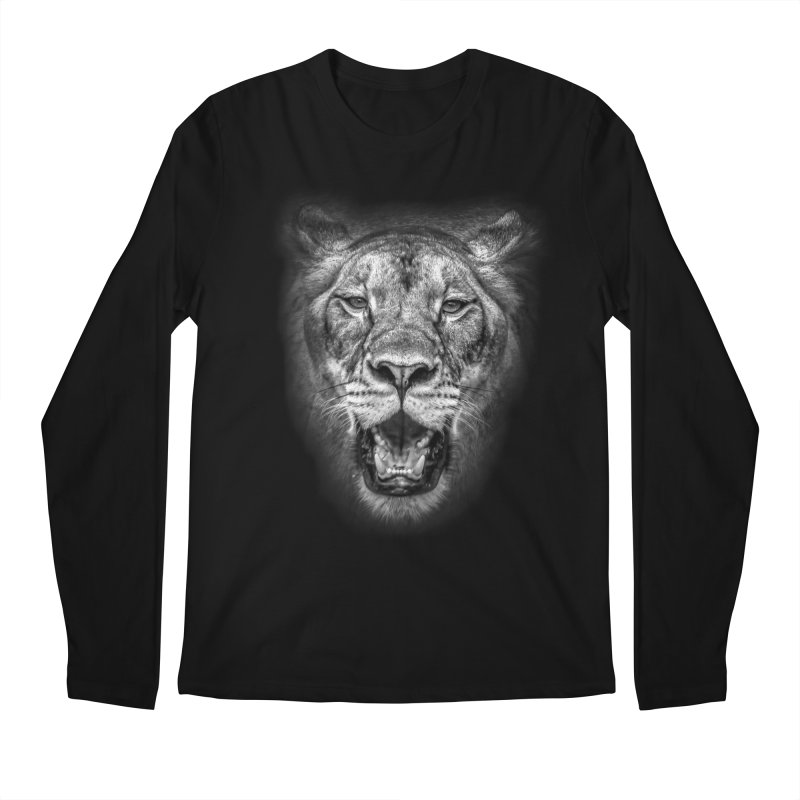 Lioness - @victorfernandesphotography Men's Regular Longsleeve T-Shirt by TDUB951