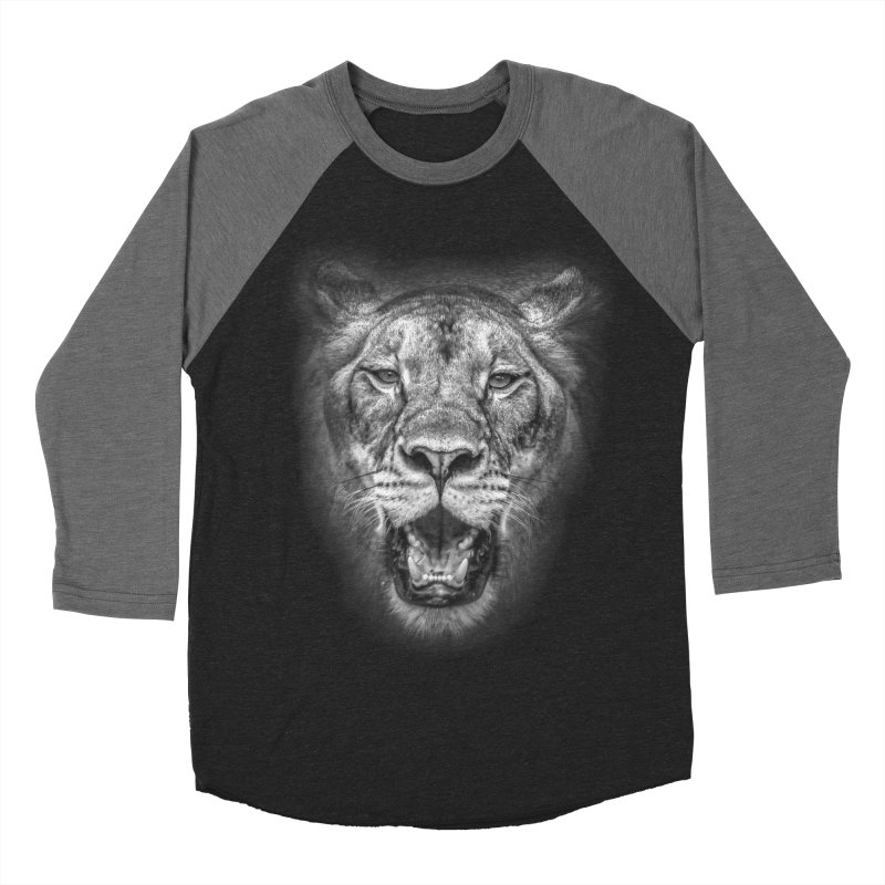 Lioness - @victorfernandesphotography Men's Baseball Triblend Longsleeve T-Shirt by TDUB951