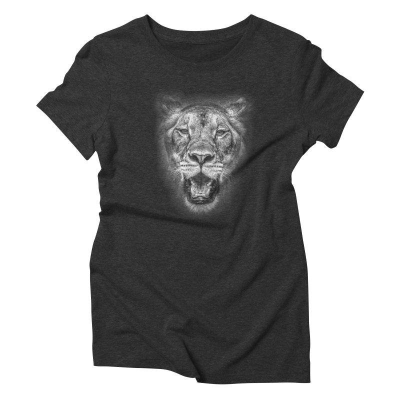 Lioness - @victorfernandesphotography Women's Triblend T-Shirt by TDUB951
