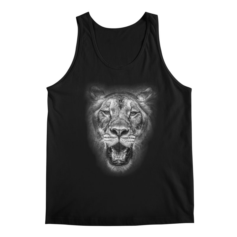 Lioness - @victorfernandesphotography Men's Regular Tank by TDUB951