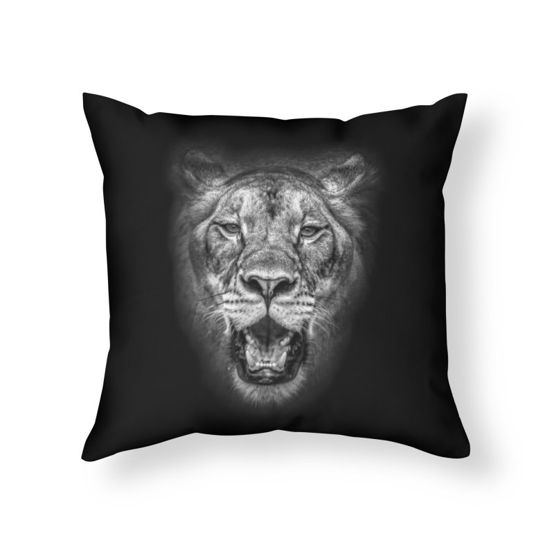 Lioness - @victorfernandesphotography Home Throw Pillow by TDUB951