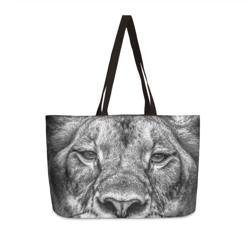Lioness - @victorfernandesphotography Accessories Weekender Bag Bag by TDUB951