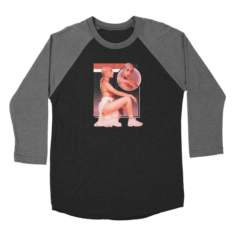 @discoshrine Men's Baseball Triblend Longsleeve T-Shirt by TDUB951
