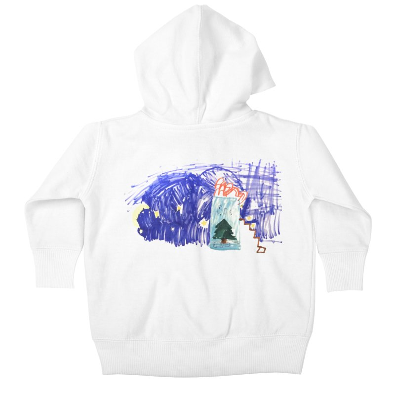 Adrian X TDUB951 Kids Baby Zip-Up Hoody by TDUB951