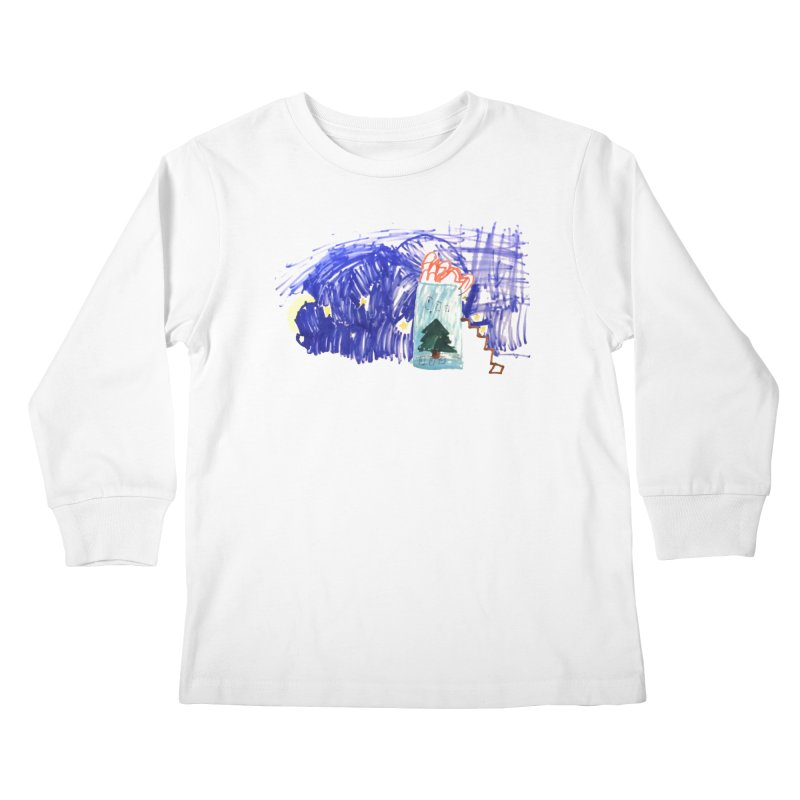 Adrian X TDUB951 Kids Longsleeve T-Shirt by TDUB951