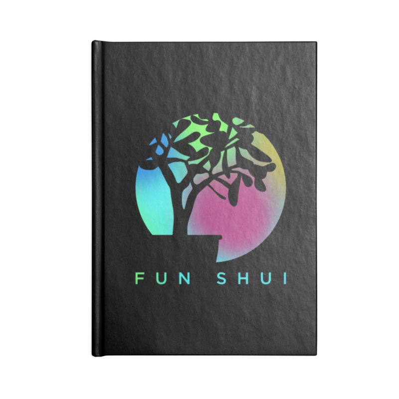 FUN SHUI Accessories Lined Journal Notebook by TDUB951