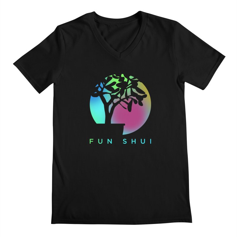 FUN SHUI Men's Regular V-Neck by TDUB951