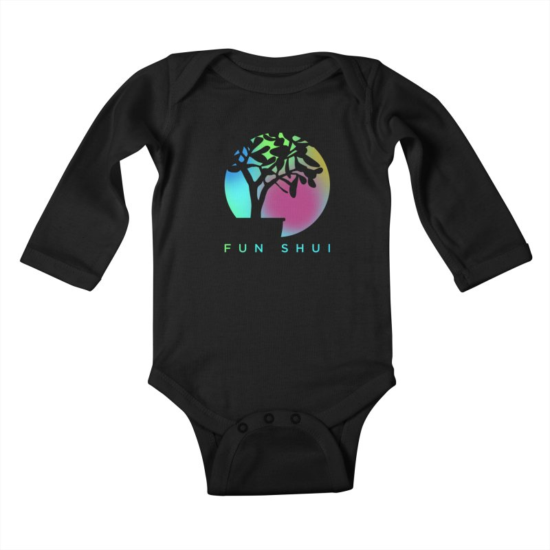 FUN SHUI Kids Baby Longsleeve Bodysuit by TDUB951
