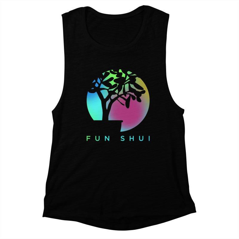 FUN SHUI Women's Muscle Tank by TDUB951
