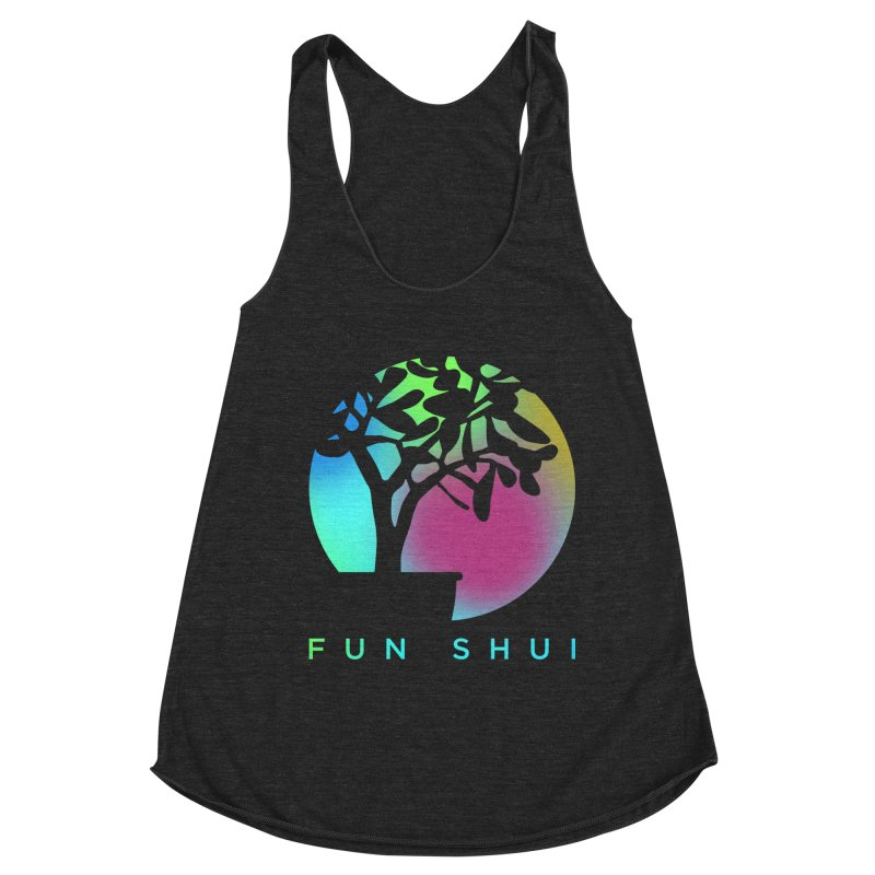 FUN SHUI Women's Racerback Triblend Tank by TDUB951