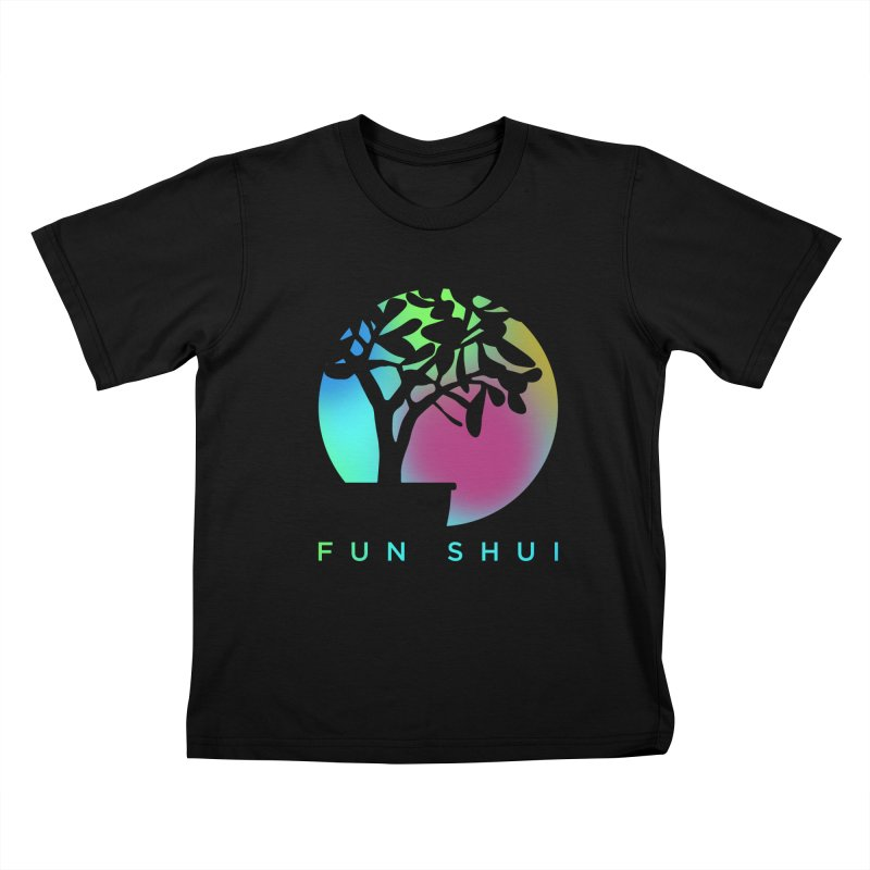 FUN SHUI Kids T-Shirt by TDUB951