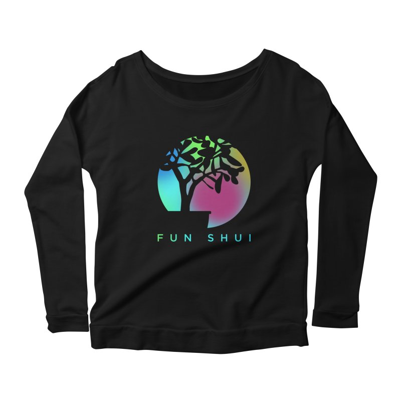 FUN SHUI Women's Scoop Neck Longsleeve T-Shirt by TDUB951