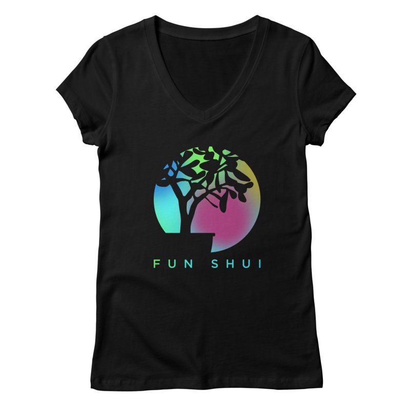 FUN SHUI Women's Regular V-Neck by TDUB951