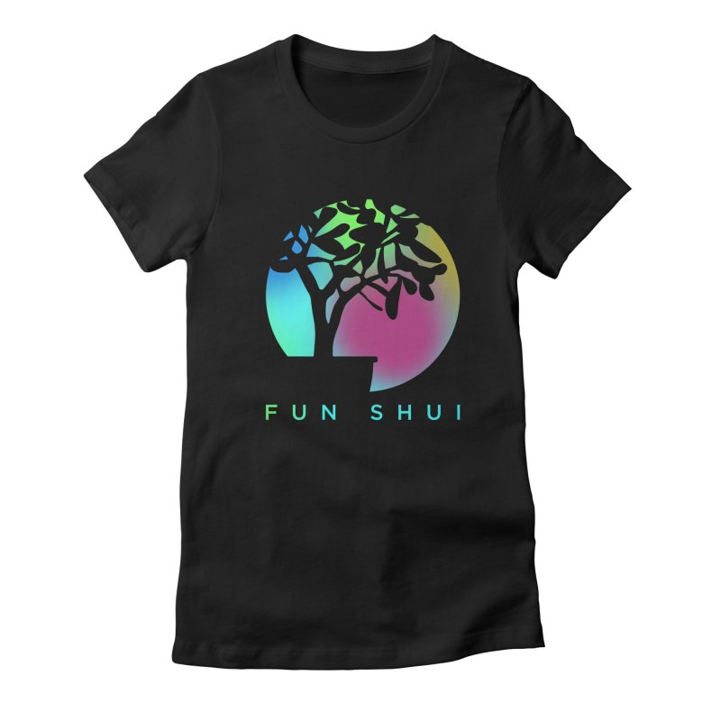 FUN SHUI Women's Fitted T-Shirt by TDUB951