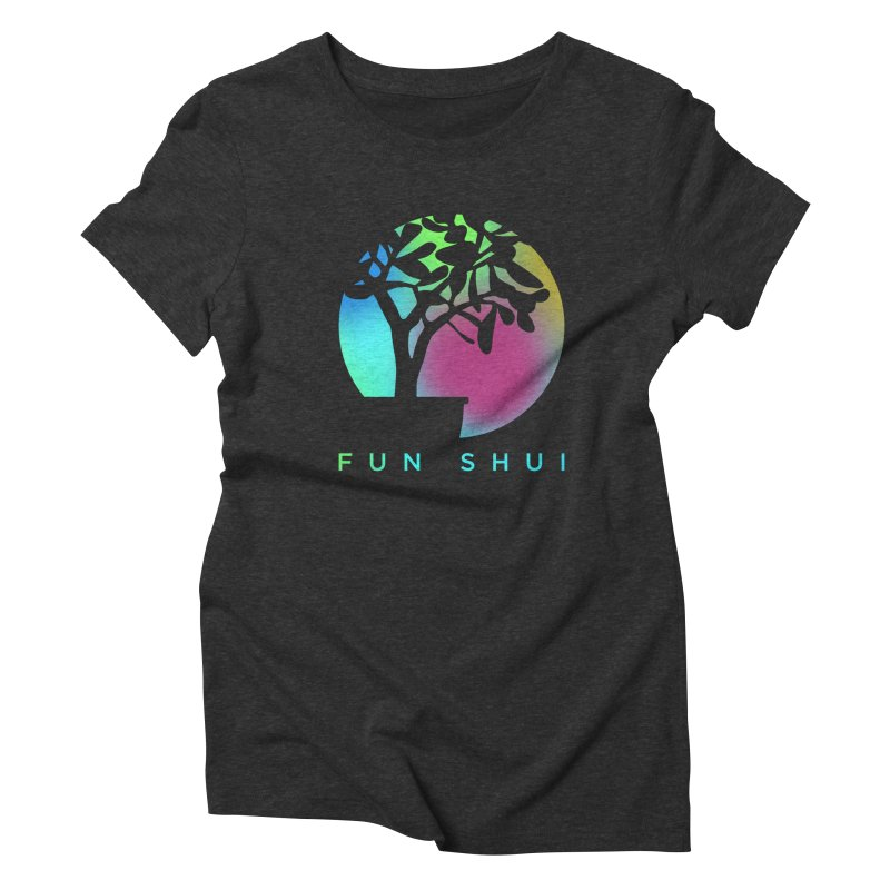 FUN SHUI Women's Triblend T-Shirt by TDUB951