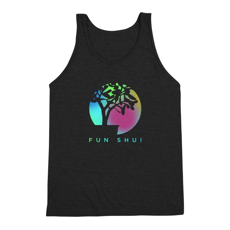 FUN SHUI Men's Triblend Tank by TDUB951