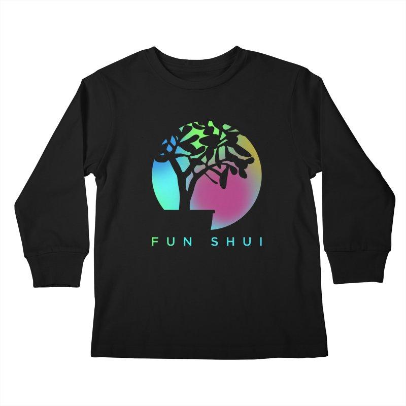 FUN SHUI Kids Longsleeve T-Shirt by TDUB951