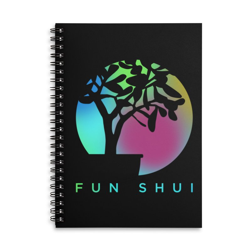 FUN SHUI Accessories Lined Spiral Notebook by TDUB951