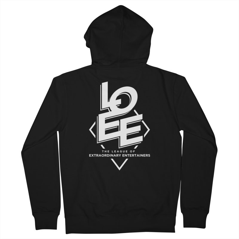 LOEE - @leagueofee Men's French Terry Zip-Up Hoody by TDUB951