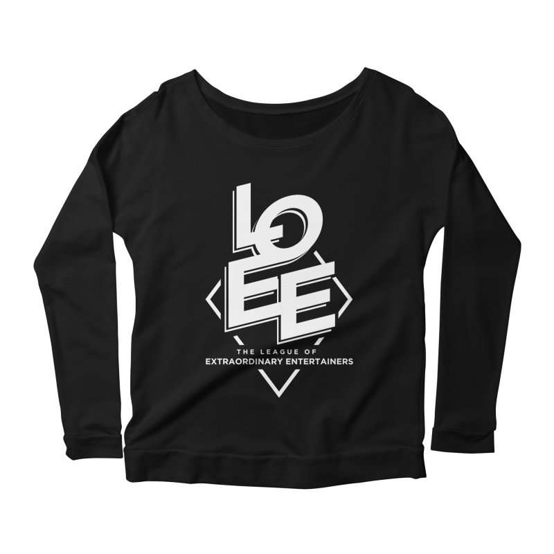 LOEE - @leagueofee Women's Scoop Neck Longsleeve T-Shirt by TDUB951