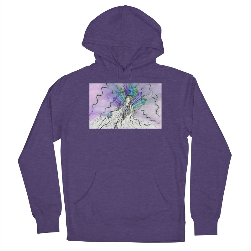 Exhausted Queen of Crystal Men's Pullover Hoody by THGStarDragon's Artist Shop