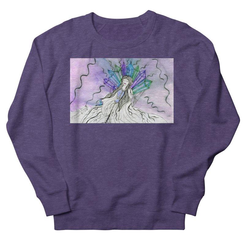 Exhausted Queen of Crystal Women's Sweatshirt by THGStarDragon's Artist Shop