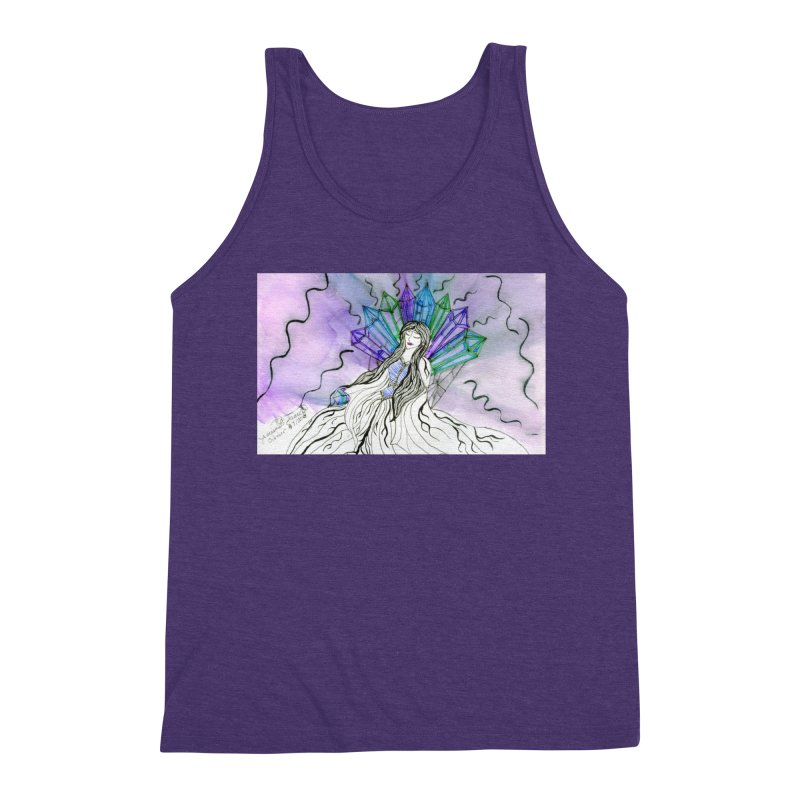 Exhausted Queen of Crystal Men's Tank by THGStarDragon's Artist Shop