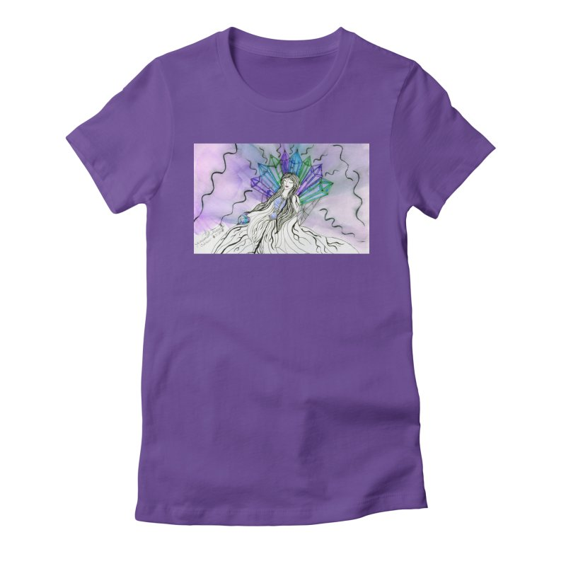 Exhausted Queen of Crystal Women's T-Shirt by THGStarDragon's Artist Shop