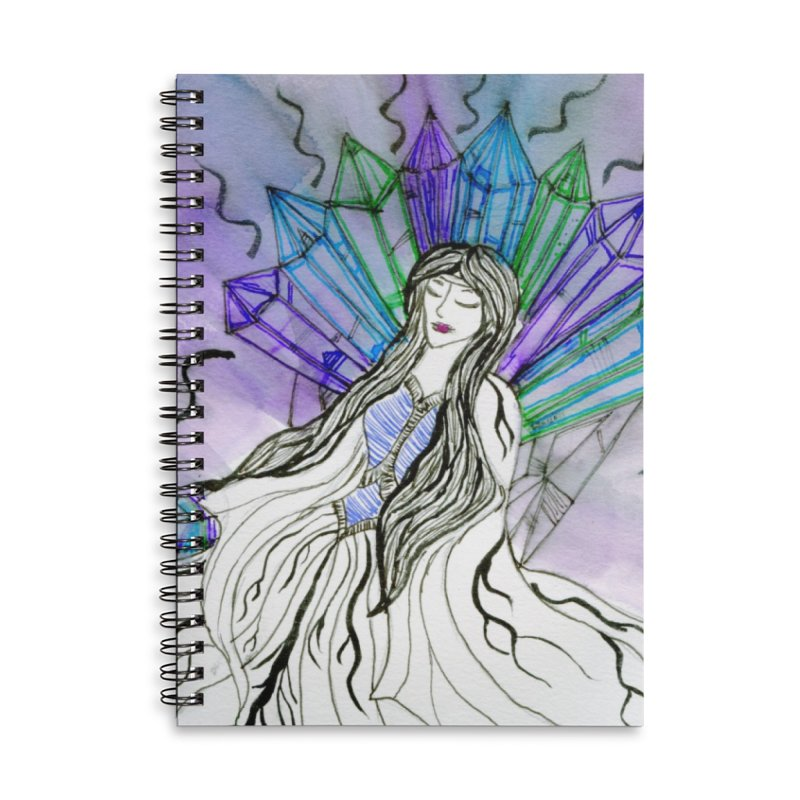 Exhausted Queen of Crystal Accessories Notebook by THGStarDragon's Artist Shop