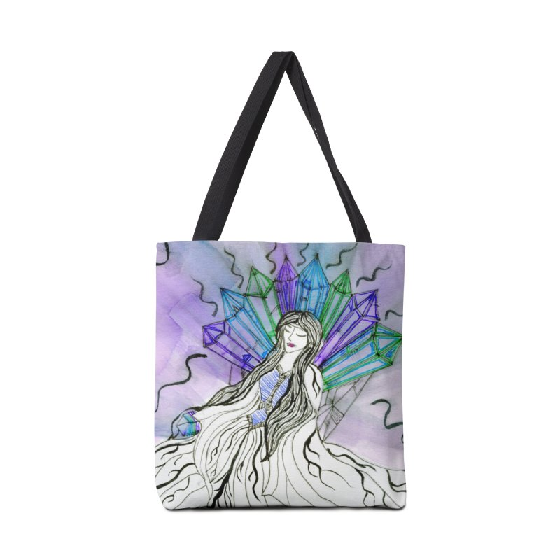 Exhausted Queen of Crystal Accessories Bag by THGStarDragon's Artist Shop