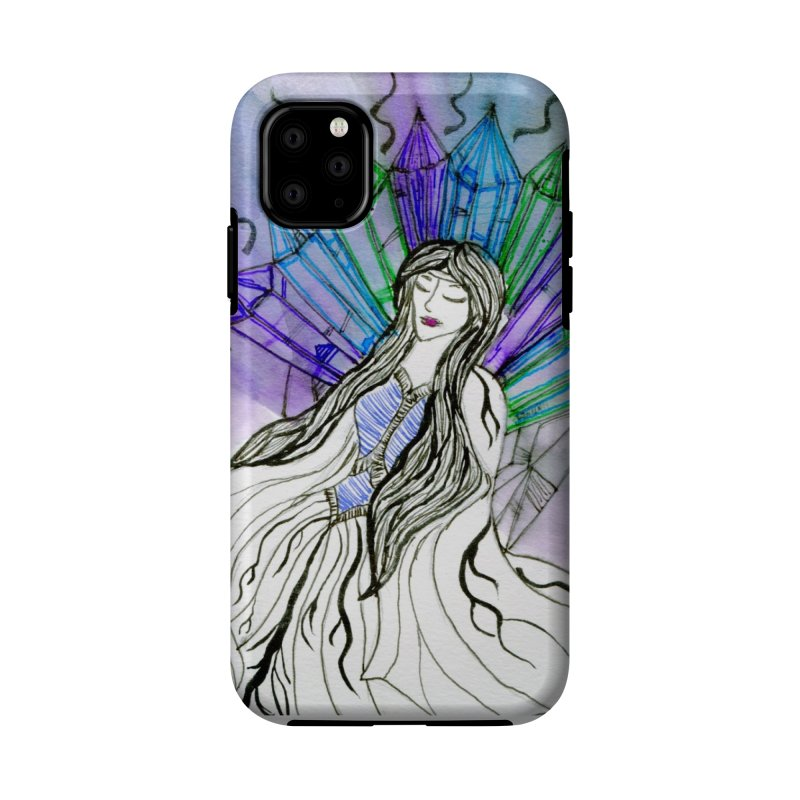 Exhausted Queen of Crystal Accessories Phone Case by THGStarDragon's Artist Shop