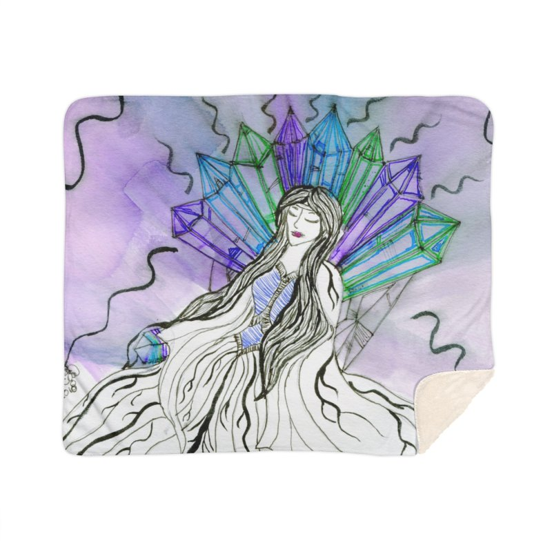 Exhausted Queen of Crystal Home Blanket by THGStarDragon's Artist Shop