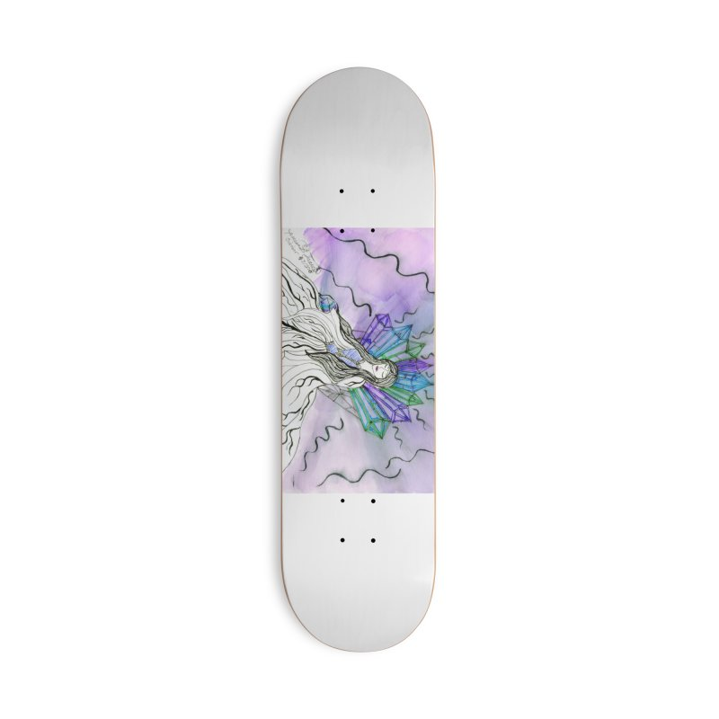 Exhausted Queen of Crystal Accessories Skateboard by THGStarDragon's Artist Shop