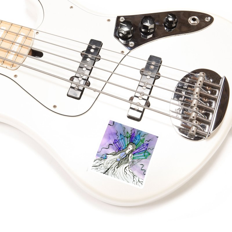 Exhausted Queen of Crystal Accessories Sticker by THGStarDragon's Artist Shop