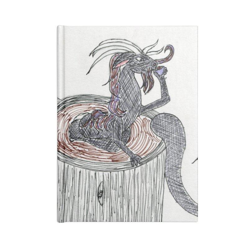 Coffee Dragon Hatchwork Accessories Notebook by THGStarDragon's Artist Shop