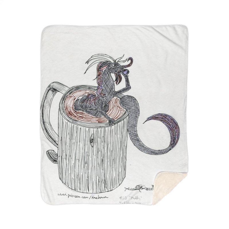 Coffee Dragon Hatchwork Home Blanket by THGStarDragon's Artist Shop