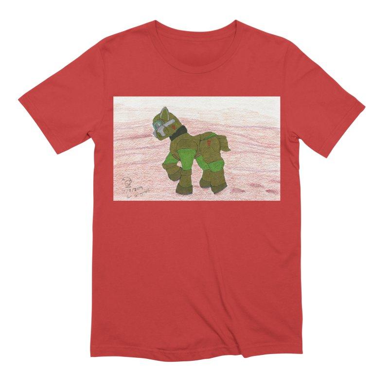 Wandering the Martian Wastes Men's T-Shirt by THGStarDragon's Artist Shop