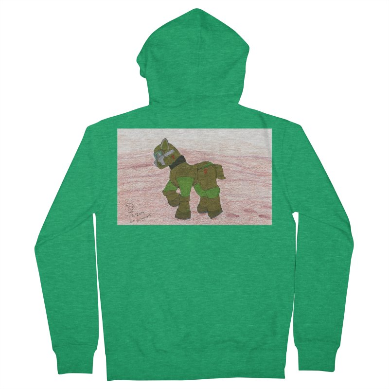 Wandering the Martian Wastes Men's Zip-Up Hoody by THGStarDragon's Artist Shop