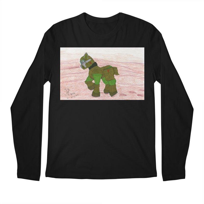 Wandering the Martian Wastes Men's Longsleeve T-Shirt by THGStarDragon's Artist Shop