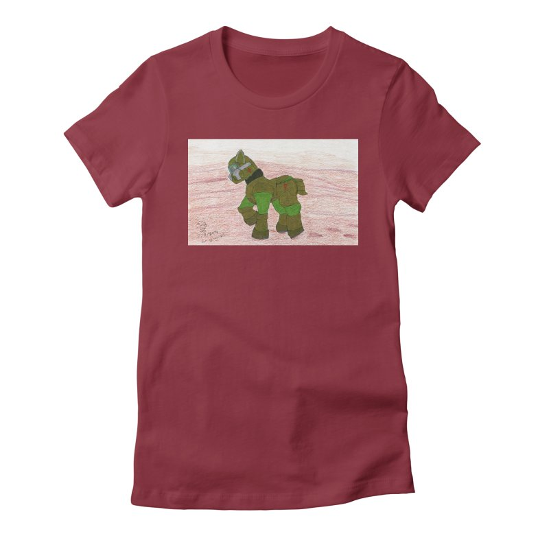 Wandering the Martian Wastes Women's T-Shirt by THGStarDragon's Artist Shop