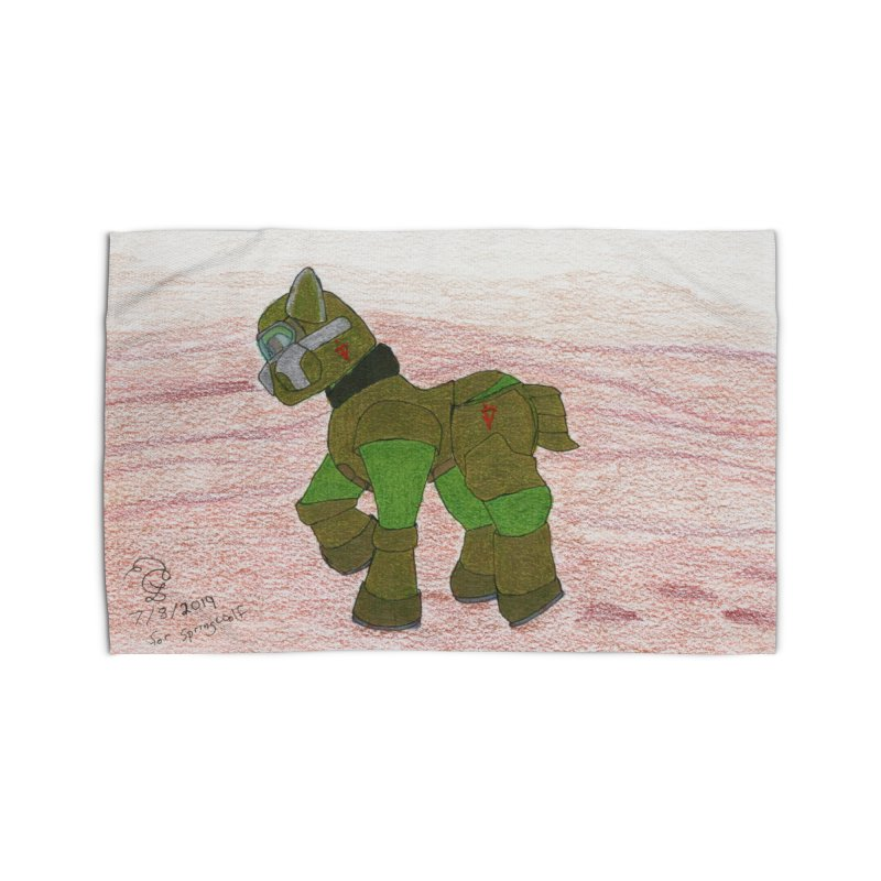 Wandering the Martian Wastes Home Rug by THGStarDragon's Artist Shop