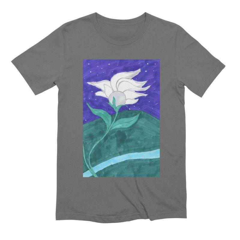 Enchanted Moon Flower Men's T-Shirt by THGStarDragon's Artist Shop