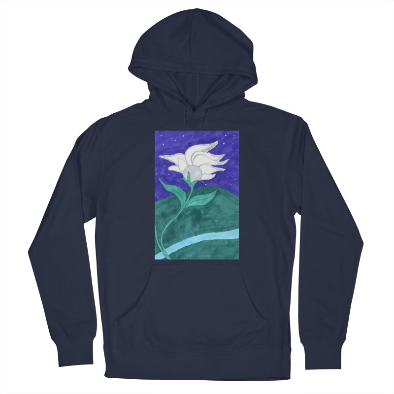 Enchanted Moon Flower Men's Pullover Hoody by THGStarDragon's Artist Shop