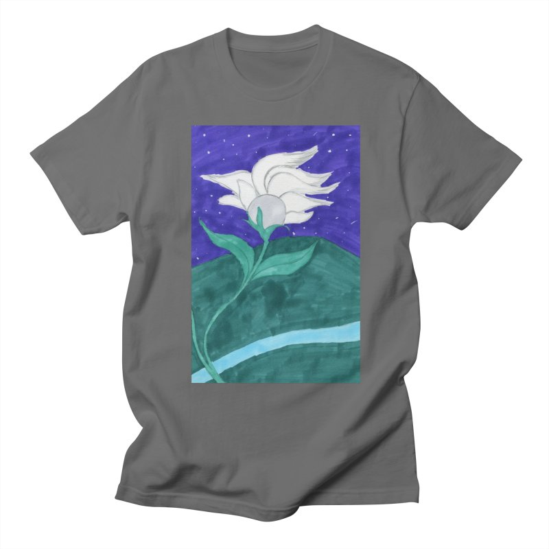 Enchanted Moon Flower Men's T-Shirt by THGStarDragon's Artist Shop