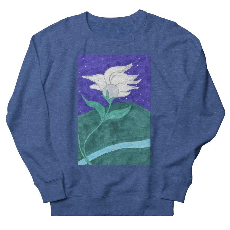 Enchanted Moon Flower Men's Sweatshirt by THGStarDragon's Artist Shop