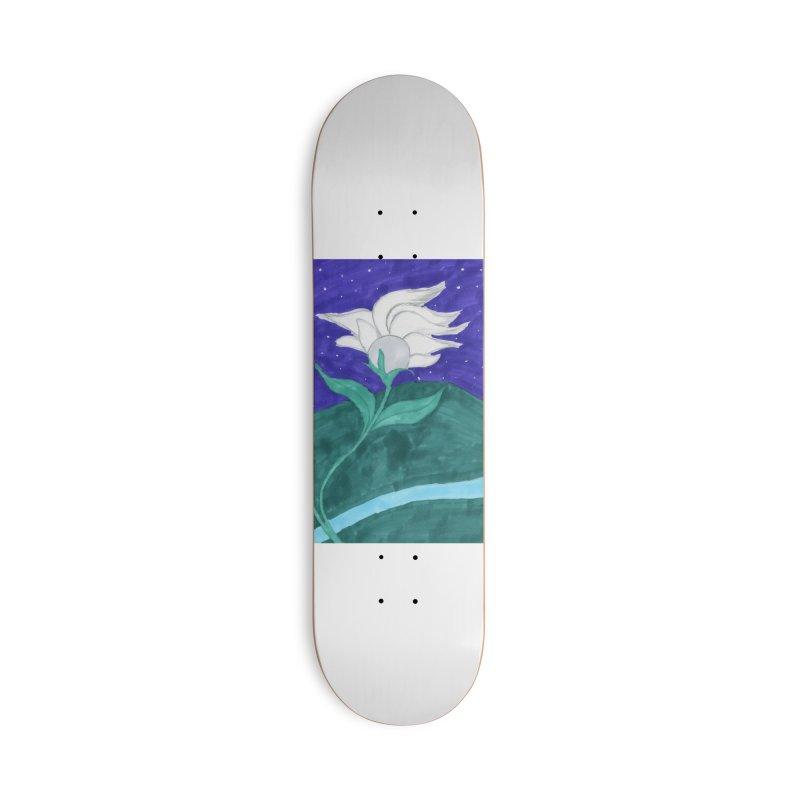 Enchanted Moon Flower Accessories Skateboard by THGStarDragon's Artist Shop