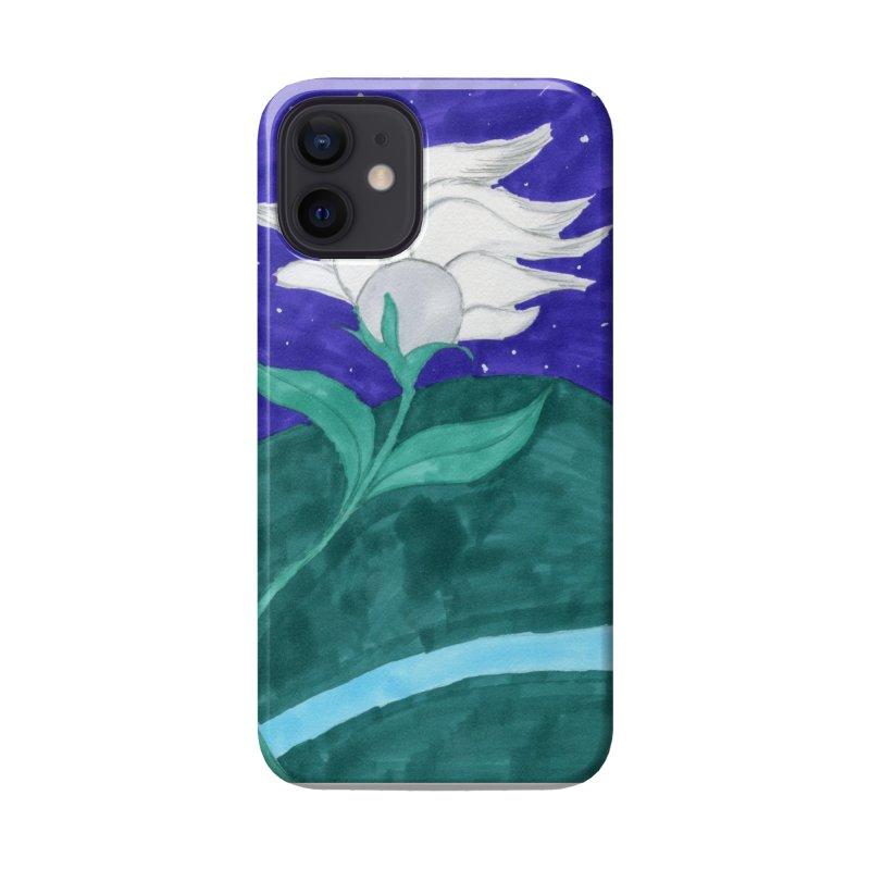 Enchanted Moon Flower Accessories Phone Case by THGStarDragon's Artist Shop