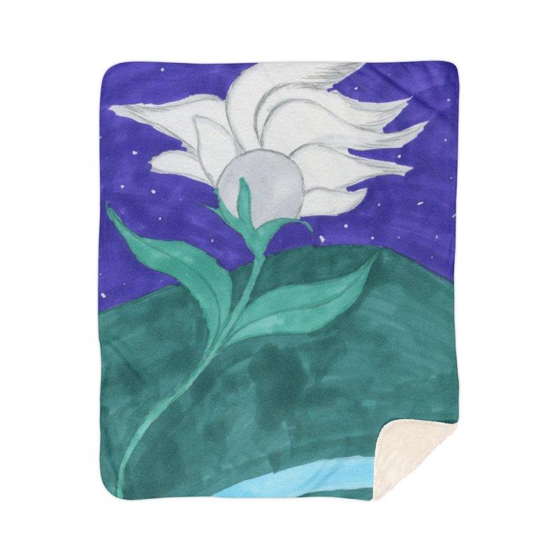 Enchanted Moon Flower Home Blanket by THGStarDragon's Artist Shop