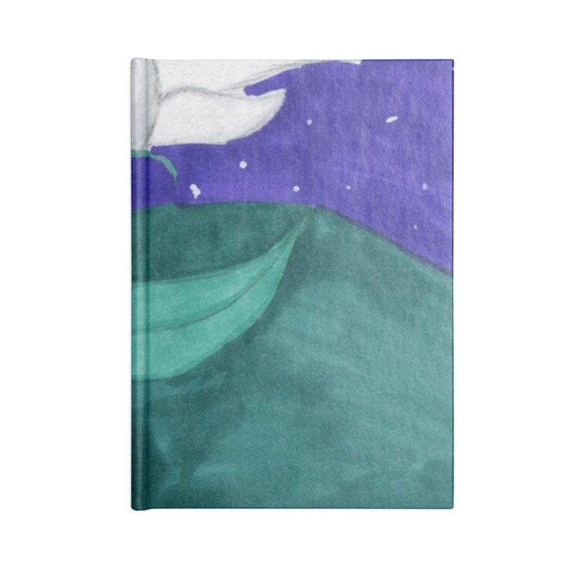 Enchanted Moon Flower Accessories Notebook by THGStarDragon's Artist Shop