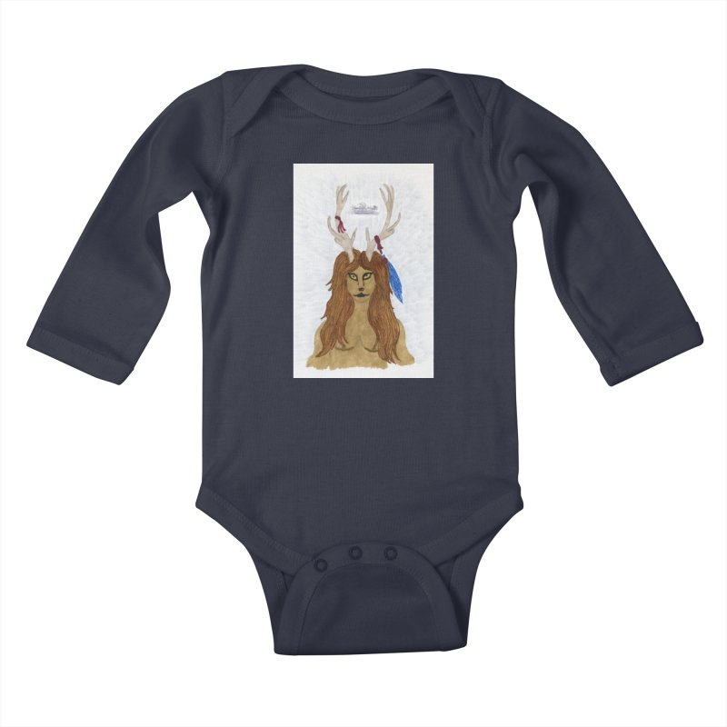 Lord of the Wild Kids Baby Longsleeve Bodysuit by THGStarDragon's Artist Shop